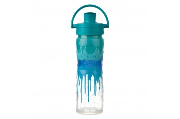 Lifefactory, Blár splash Active Flip Cap. 475ml