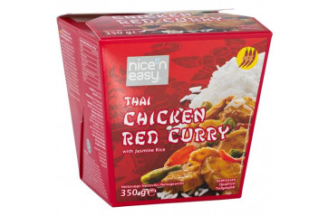 Nice'n Easy Chicken Thai Red Curry 350gr.