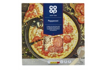 Coop Pizza m/pepperoni 350g