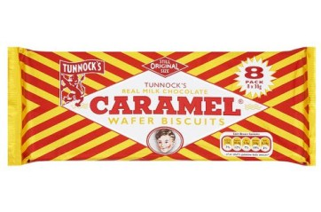 Tunnocks Caramel Bar 8stk.