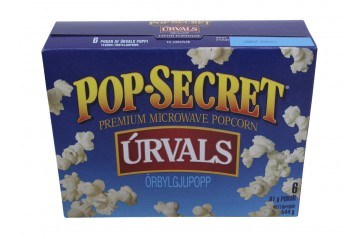 Pop Secret Natural 272g