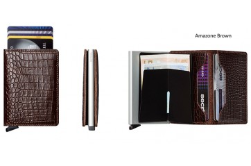 Slimwallet | Amazone Brown
