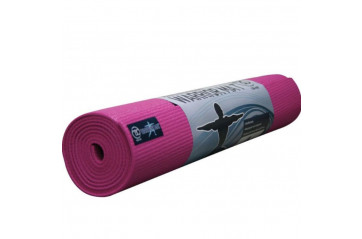 Warrior Yoga Mat 4mm bleik