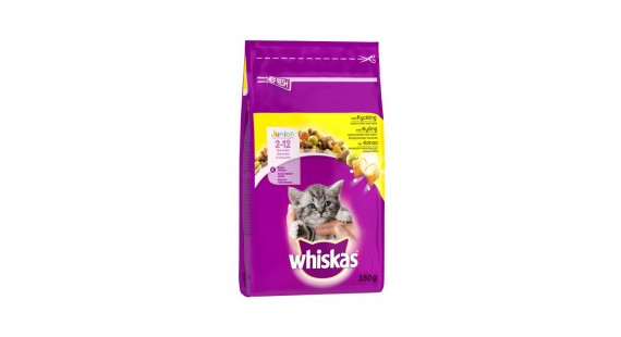 Whiskas 350g.Dry Junior