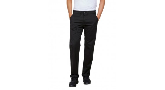 Stretch Chinos Regular Black