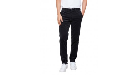 Corduroy Stretch Chinos Navy