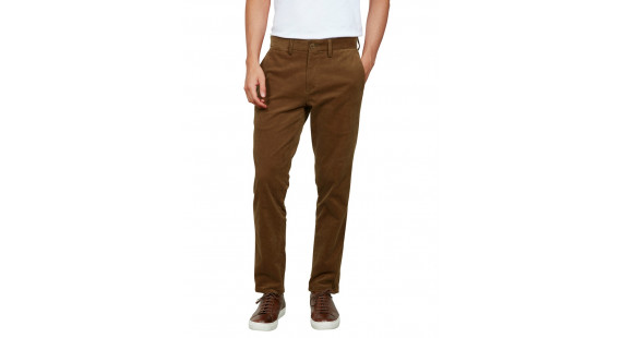 Corduroy Stretch Chinos Ochre