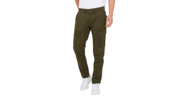 Cargo Stretch Pants Olive