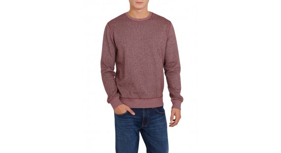 Sweatshirt Cotton Herringbone