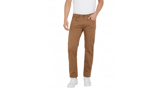 5 Pocket Stretch Pants Ochre