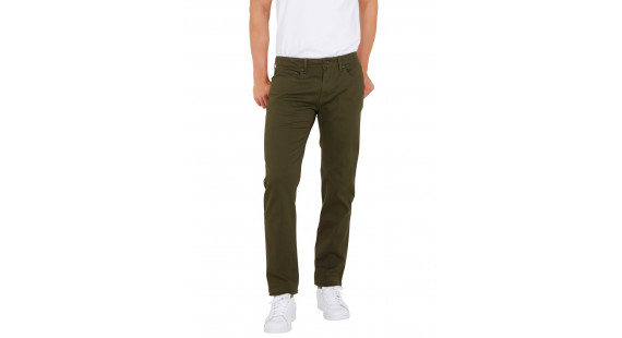 5 Pocket Stretch Pants Green