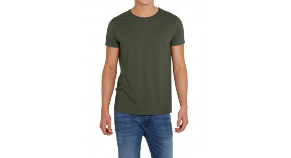 T-Shirt Solid Raw