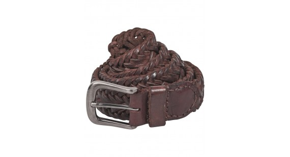 D+LJ Braided Leather Belt