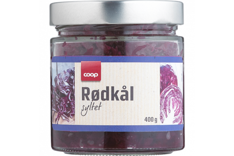 Coop Red Cabbage 400g