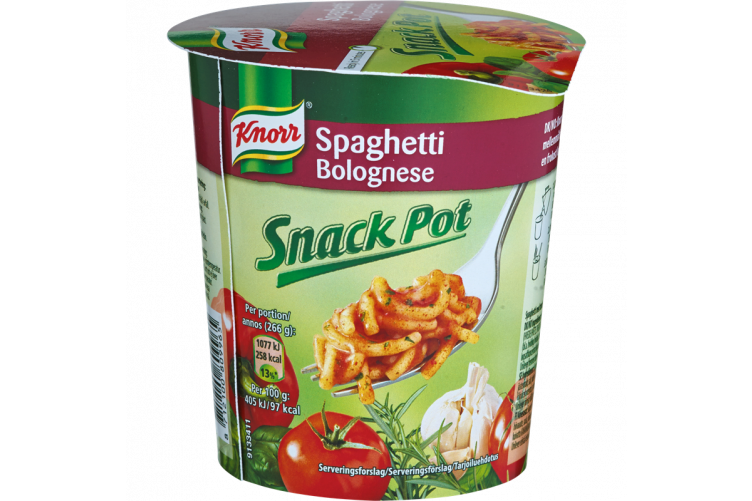 Knorr Snackpot Bolognese 66g