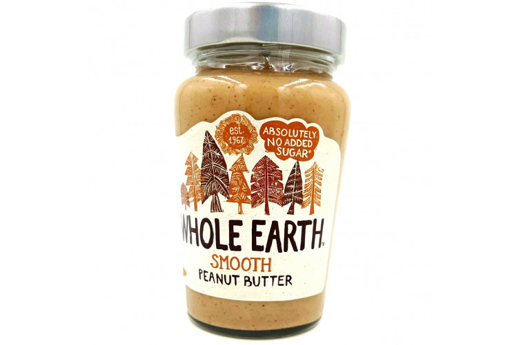 Whole Earth Hnetusmjör Smooth 340gr