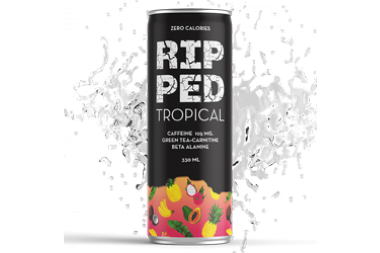 Ripped Tropical sports drink 330ml