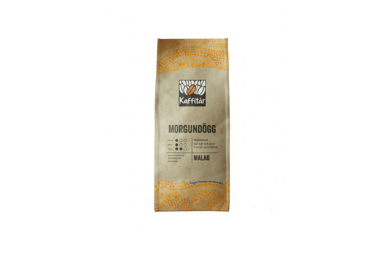 Kaffitár Morgundögg ground coffee 400g