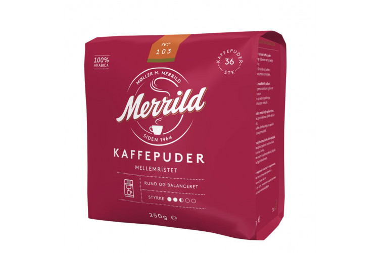 Merrild Coffee Pads 103 250g