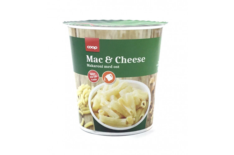 Coop Cup Mac&Cheese 70g