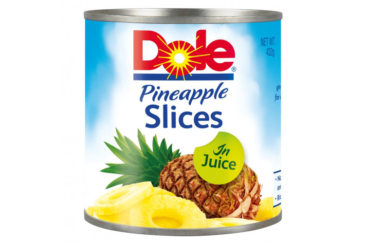 Dole Pineapple Slices 432g.