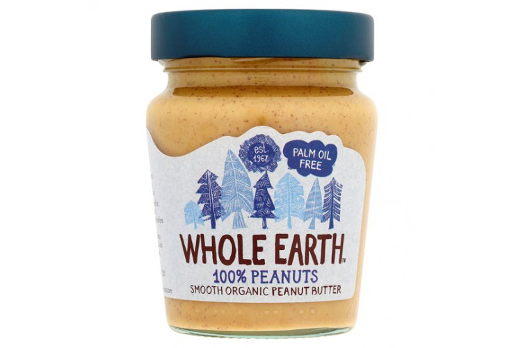 Whole Earth Hnetusmjör smooth 227gr