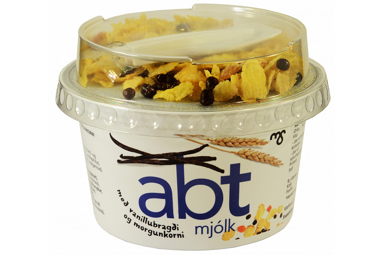 MS ABT Vanilla Yogurt with muesli