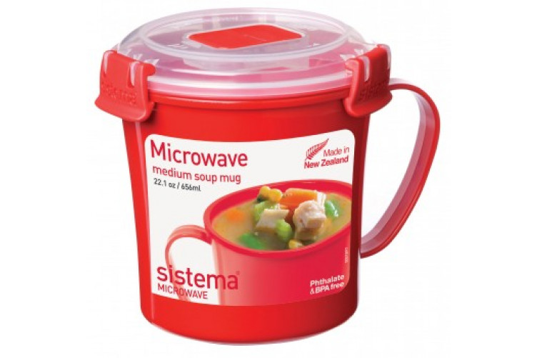 Sistema Soup Cup with valve 656ml