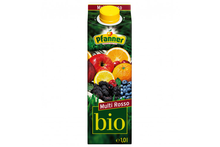 Pfanner Organic Multi Rosso Mixed fruit 1L