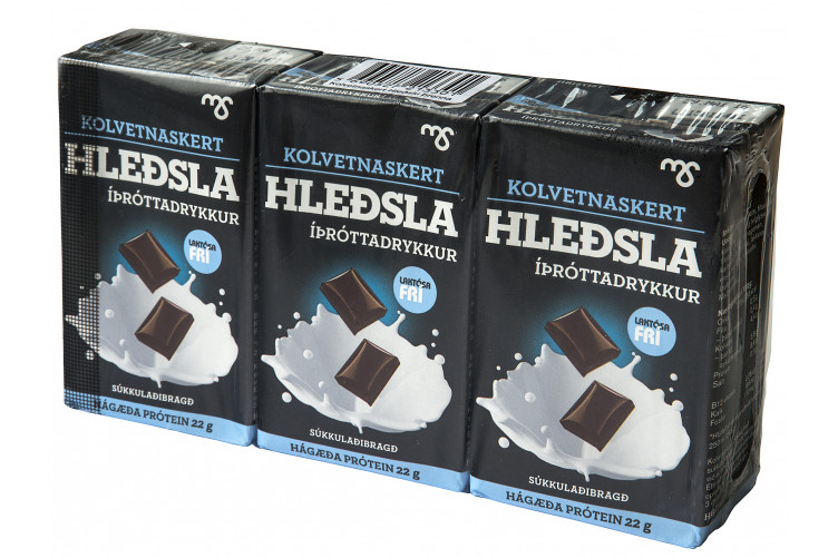 MS Hleðsla Chocolate Protein Drink Low Carb 3x250ml