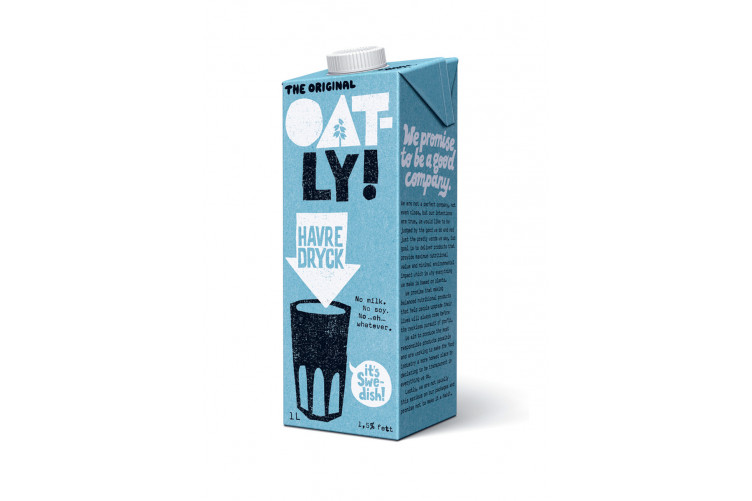 Oatly goatmilk 1L