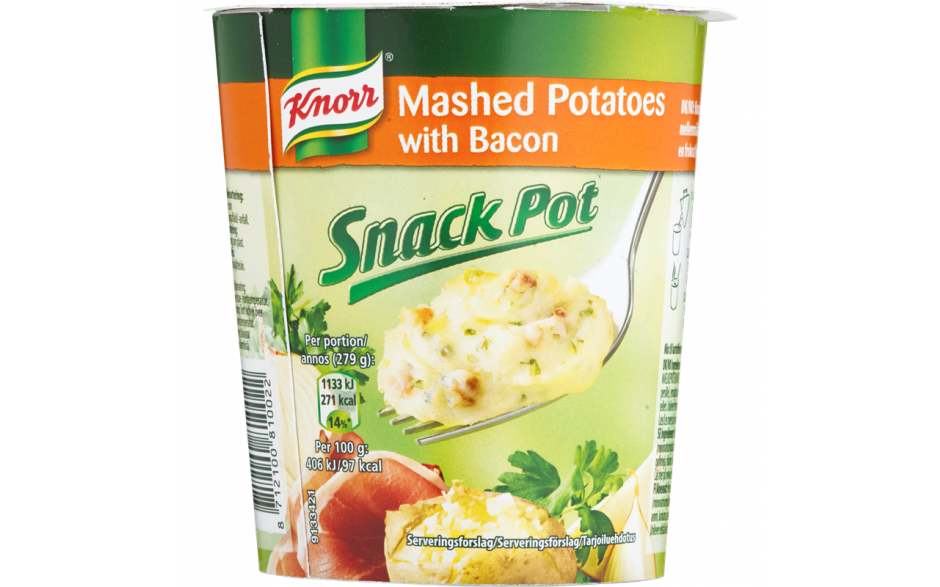 Knorr Snackpot Bacon&Onion 58g