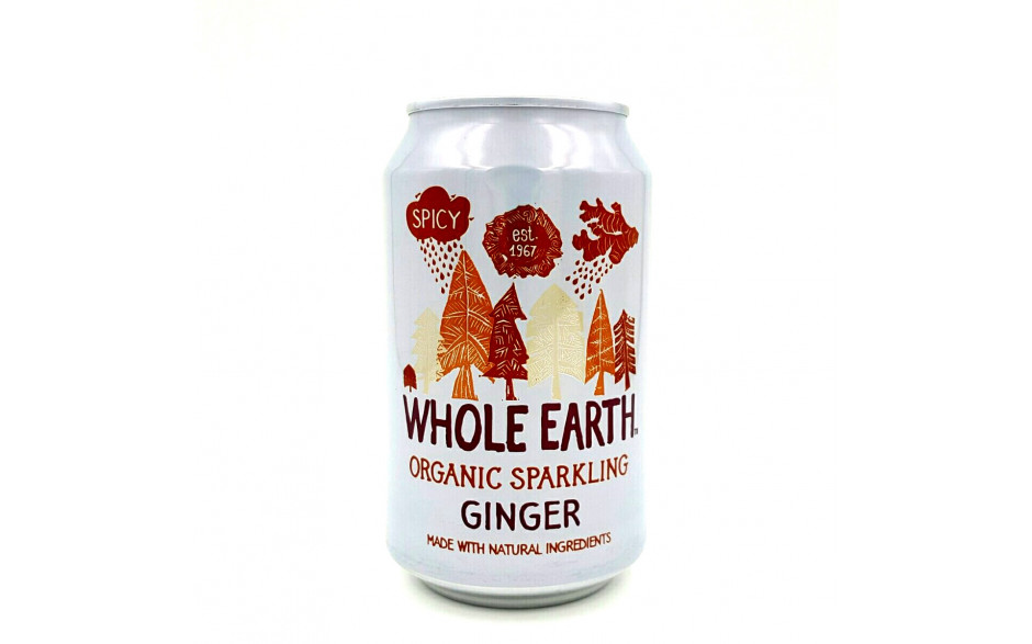 Whole Earth Gingerale 330ml