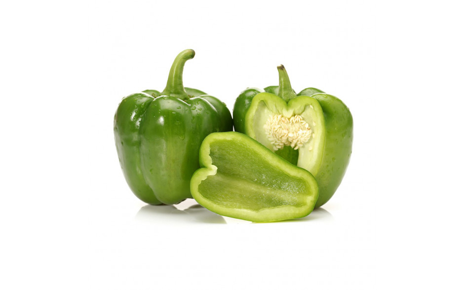 Green peppers ca 250 gr./ pc