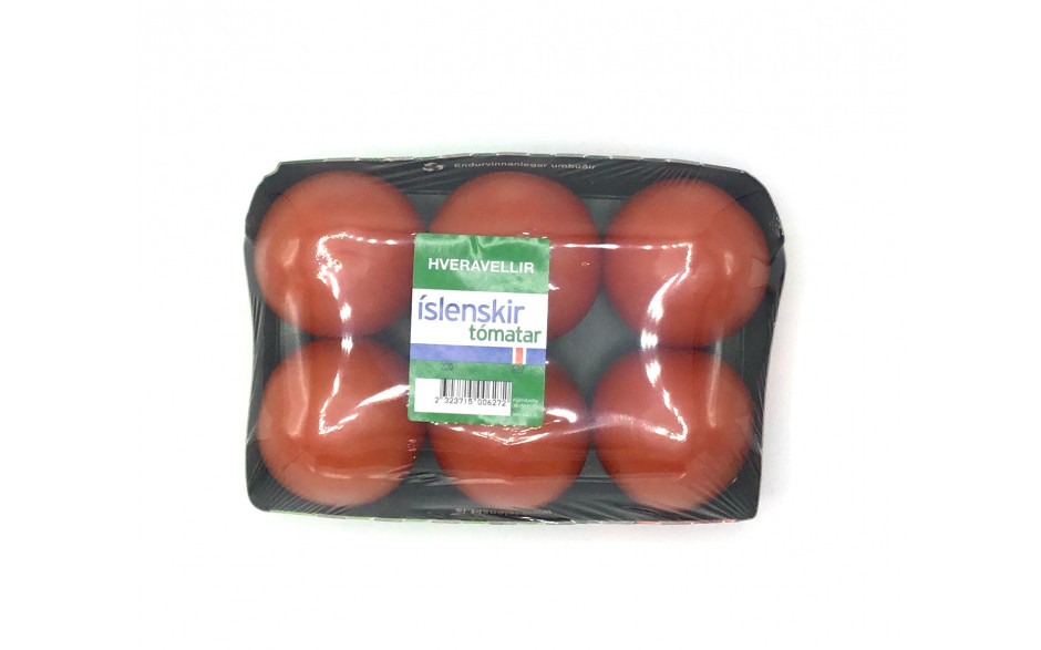 Tomatoes Icelandic Packages small trays