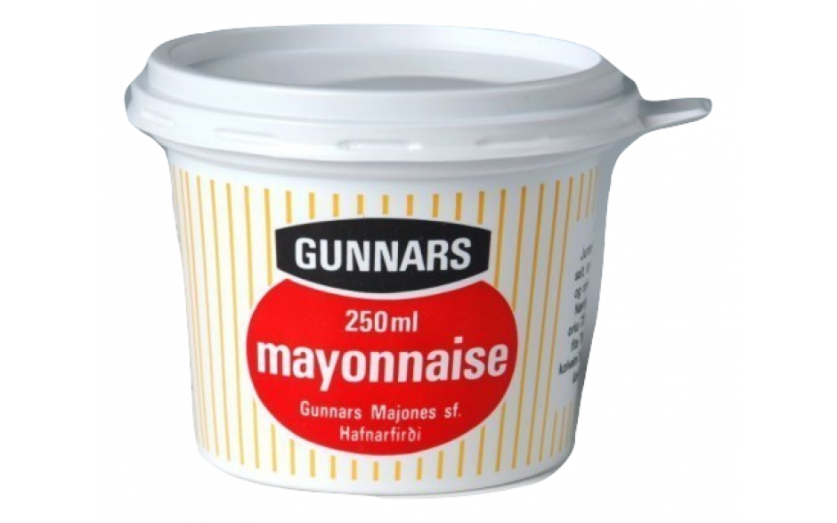 Gunnar Mayonnaise 250ml.