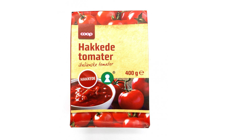 Coop Chopped Tomatoes 400 gr