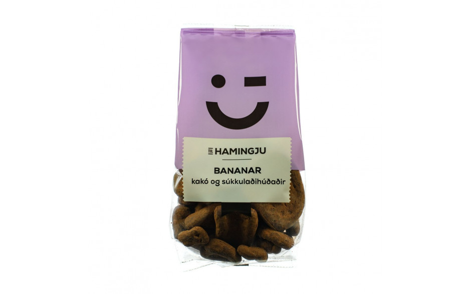 TH Cocoa covered Bananas 160g