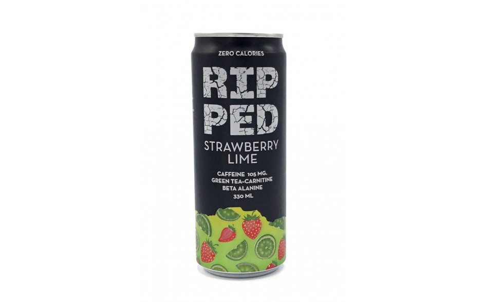 Ripped Strawberry Lime 330ml