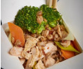 087. Powerfiber, red rice, whole oats, Icelandic organic barley with chicken, egg and vegetables