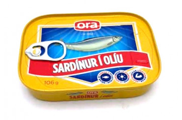 Ora Sardines Oil canister 1/4