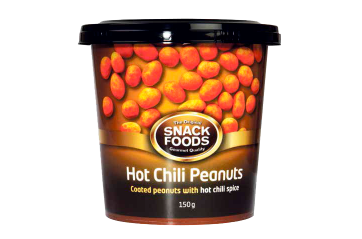 Snackfood nuts Hot Chilli 150gr.