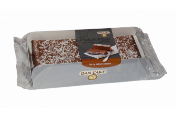 DC Chocolate cake w/coconut 350gr.
