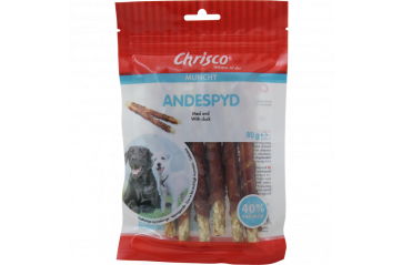 Chrisco dog chewing stick with duck 80 gr