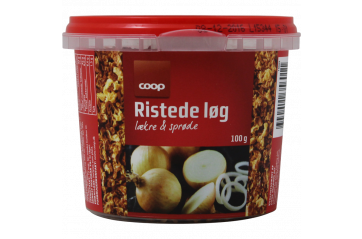 Coop Fried onions 100 gr box