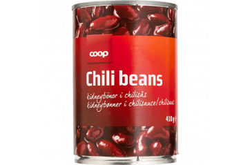 Coop Chili Beans 400g