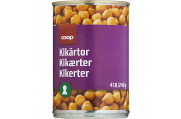 Coop Chick Peas 410g