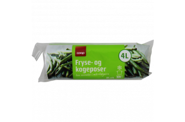 Coop Food, freezer and microwave bags 4L 45pcs