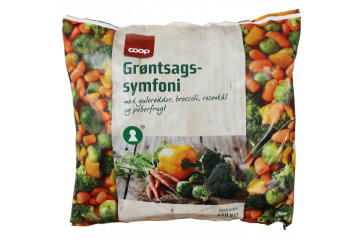 Coop Symfoni vegetable mix 650 gr