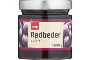 Coop Beetroot Slices 380g